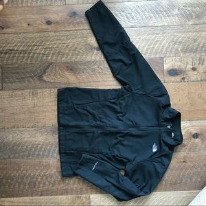 The North Face Shell Jacket Girls L (14/16) Black